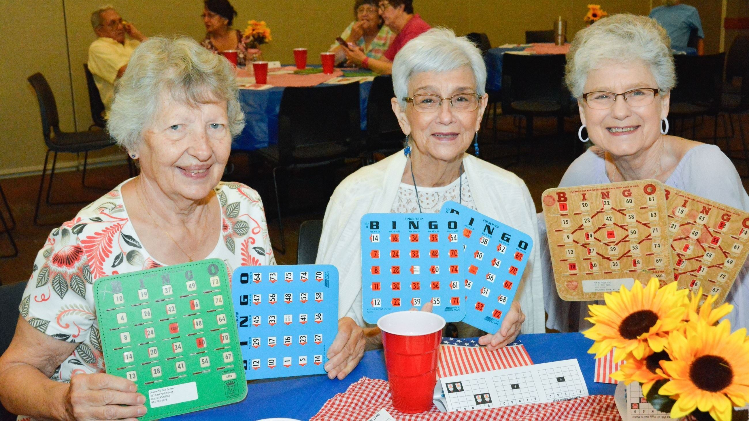 50 Plus Bingo Particpants
