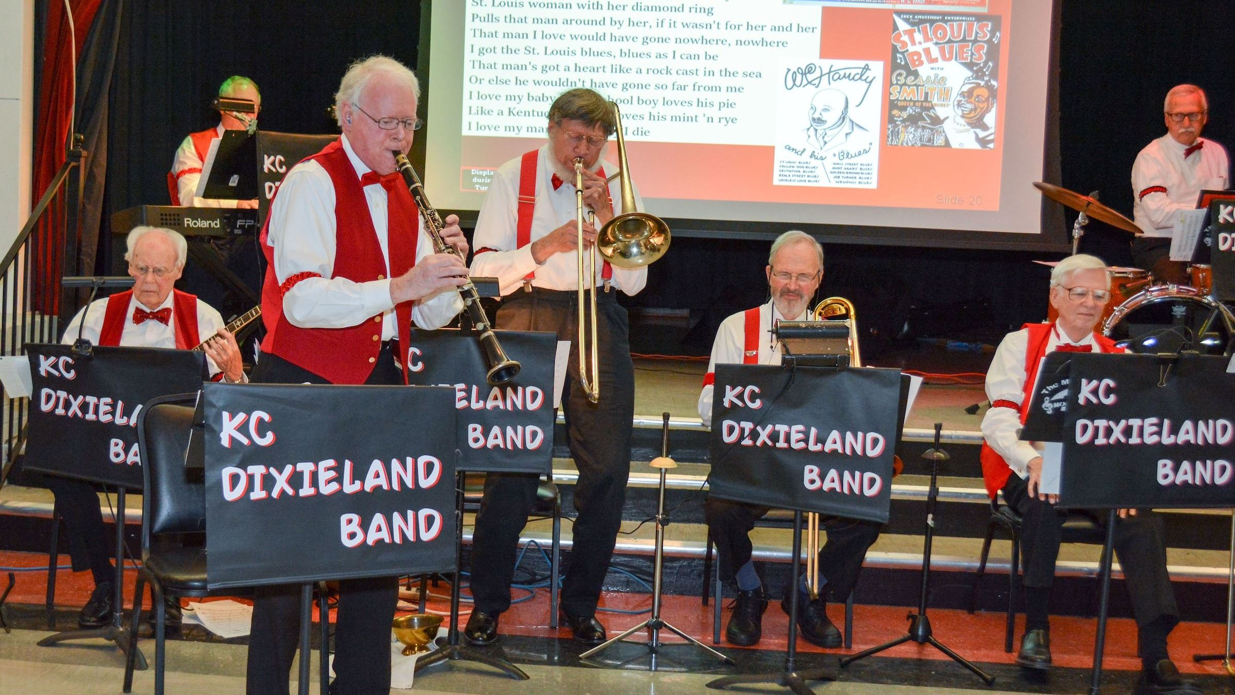 Dance and Dine with KC Dixieland Band