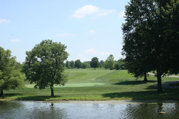 Golf Course Pond and Landscape