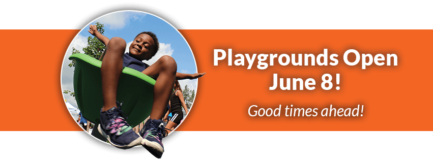 Playgrounds Open June 8